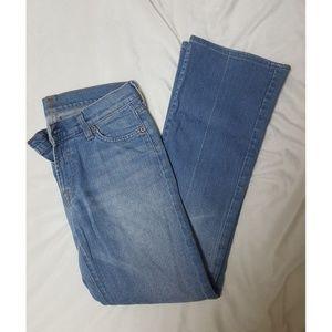 Seven bootcut jeans size 28